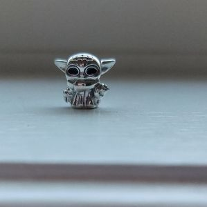 925 Silver Baby Yoda Charm
